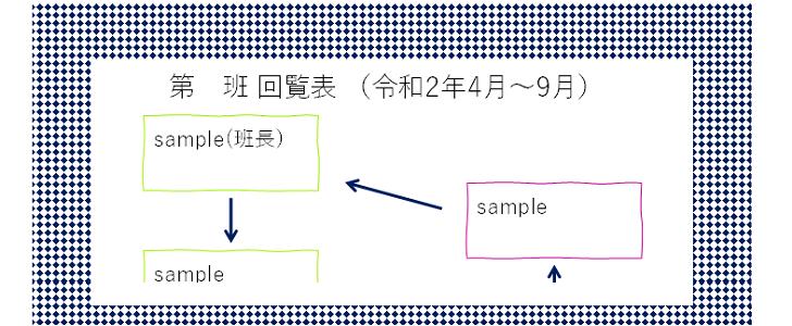 かわいい!職場・社内で使える「エクセル・ワード・PDF」回覧表の無料テンプレート