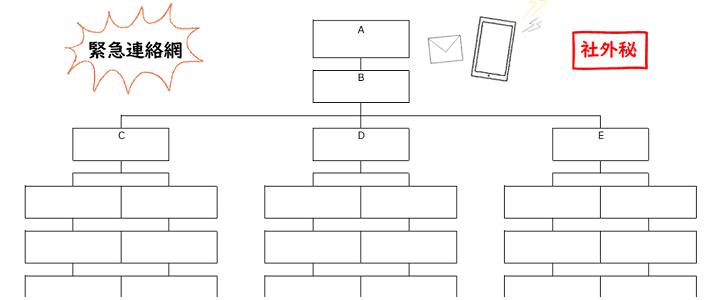 かわいい&シンプルな緊急連絡網!自治会・町内会「Word/Excel/PDF」無料テンプレート